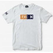 Camiseta Masculina TXC Brand 1437 Branco