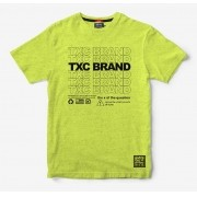 Camiseta Masculina TXC Brand Flame Fluor 19165