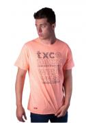 Camiseta Masculina TXC Brand Flame Laranja 2062