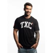 Camiseta Masculina TXC Brand Preta 2043