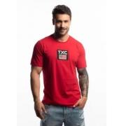 Camiseta Masculina TXC Brand Vermeha 19259