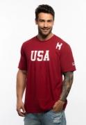 Camiseta Masculina TXC Brand Vermelha 19313