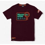 Camiseta Masculina TXC Brand Vinho 19115