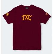 Camiseta Masculina TXC Brand Vinho 19532