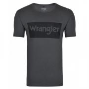Camiseta Masculina Wrangler Chumbo WM8102