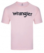 Camiseta Masculina Wrangler Rosa WM8076