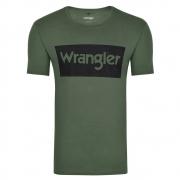 Camiseta Masculina Wrangler Verde WM8102