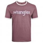 Camiseta Masculina Wrangler Vinho WM8106