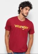 Camiseta Masculina Wrangler Vinho WM8107