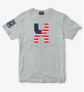 Camiseta Masculina X-Plus Mescla 19224