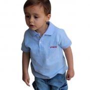 Polo Infantil Classic Azul PBR
