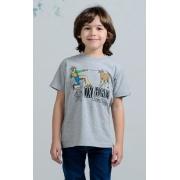 Camista Infantil OX Horns Cinza 5054