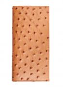 Carteira Couro Avestruz Cincow Caramelo 9345