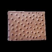 Carteira Couro Avestruz Pyramid 26619