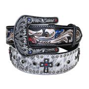 Cinto Arizona Belts Strass Colorido 7115