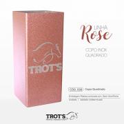 Copo Inox Trot´s Quadrado Rose