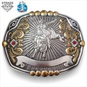 Fivela Pelegrini Bull Rider 5132/3