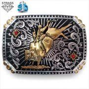 Fivela Pelegrini Bull Rider BO 5127/1