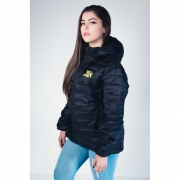 Jaqueta Feminina TXC Brand Puff Preta FJ7074