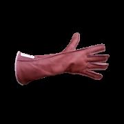 Luva Montaria Vinagre Mão Esquerda Marrom