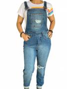 Macacão Jeans Feminino Wrangler WF9000