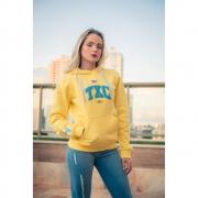 Moletom Feminino TXC Brand Amarelo 9088