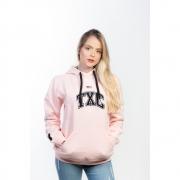 Moletom Feminino TXC Brand Rosa 9086