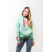 Moletom Feminino TXC Brand Verde 9089