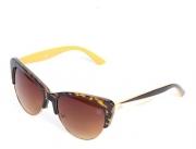 Óculos De Sol Feminino TXC Brand 7877 Laranja