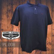 Polo Masculina King Farm Marinho PL008