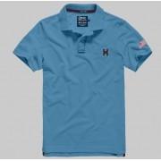 Polo Masculina TXC Brand 6225 Azul