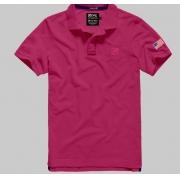 Polo Masculina TXC Brand 6351 Rosa