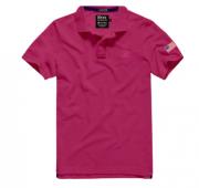 Pólo Masculina TXC Brand 6351 Rosa