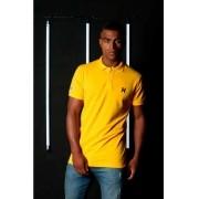 Polo Masculina TXC Brand Amarelo 6271
