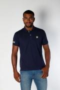 Polo Masculina TXC Brand Azul Marinho 6248