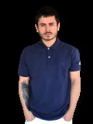 Polo Masculina TXC Brand Azul Marinho 6342