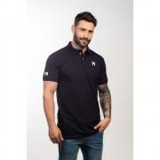 Polo Masculina TXC Brand Azul Marinho 6361