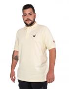 Polo Masculina TXC Brand Marfim Plus Size 6319