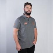 Polo Masculina TXC Brand Mescla 6298