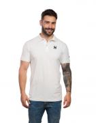 Polo Masculina TXC Brand Off White 6190