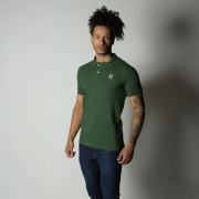 Polo Masculina TXC Brand Verde 6241