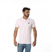Pólo Masculina Txc Brand Rosa 11430
