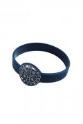 Pulseira Silicone Medalha São Bento Azul
