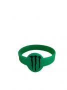 Pulseira Silicone Monster Verde