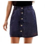 Saia Jeans Feminina Escaramuça Tennesse Blue Denin