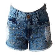 Short  Jeans Feminino Minuty Country 201760