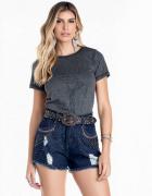 Short Jeans Feminino Minuty Confort 21839