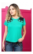 T-Shirt Feminina Country Miss Country