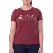 T-Shirt Feminina King Farm GCF02