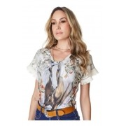 T-Shirt Feminina Minuty Country 720